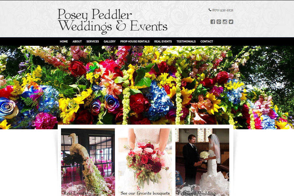 Posey Peddler Weddings & Events